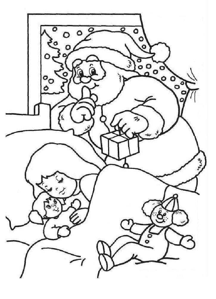 Рисунок к новому году и рождеству